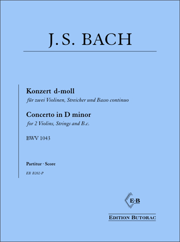 Cover - Bach, Concerto in D minor