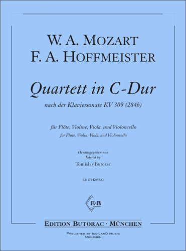 Cover - Mozart / Hoffmeister, Quartet in C major