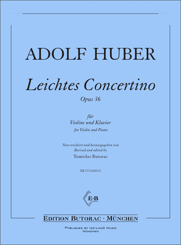 Cover - Easy Concertino, op. 36