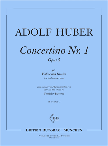 Cover - Student's Concertino No. 1, op. 5