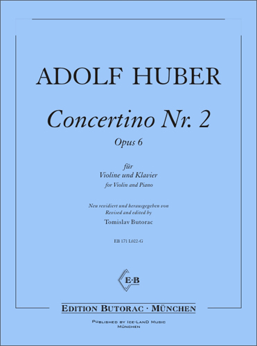 Cover - Student's Concertino No. 2, op. 6