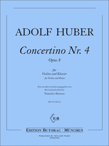 Cover - Schüler-Concertino No. 4, op. 8