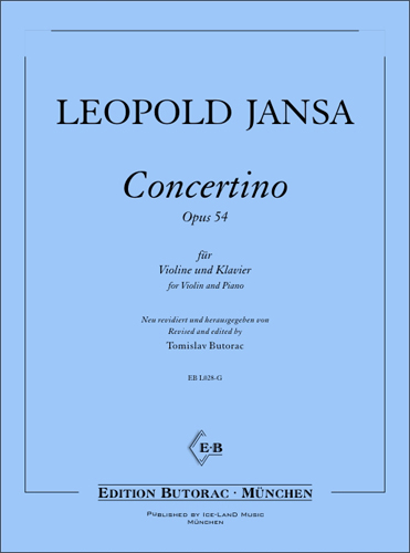 Cover - Leopold Jansa, Concertino op. 54