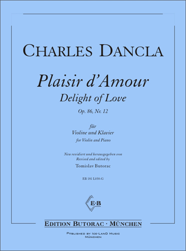 Cover - Dancla, Plaisir d'Amour  op. 86  Nr. 12