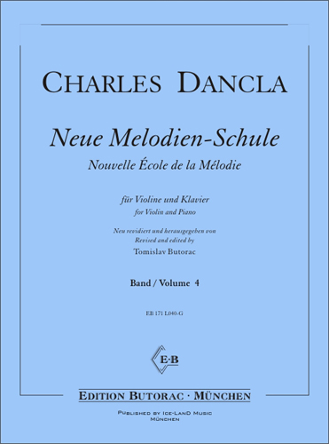 Cover - Dancla, Neue Melodien-Schule - Band 4