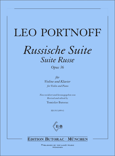 Cover - Portnoff, Russian Suite op. 36