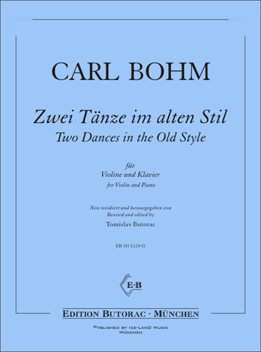 Cover - Bohm, Two Dances in the Old Style