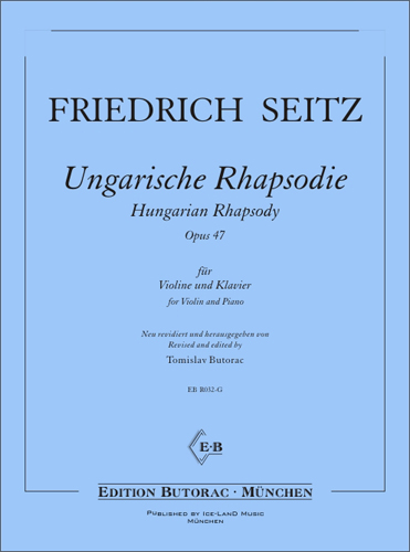 Cover - L. Seitz, Hungarian Rhapsody op. 47