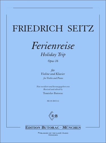 Cover - Seitz, Holiday Trip op. 16