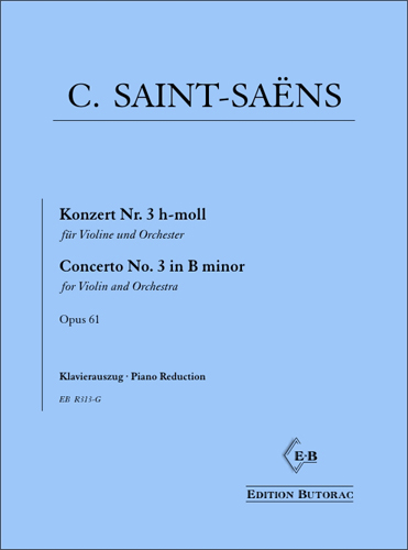 Cover - Saint-Saëns, Concerto No. 3